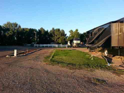 Dicks RV Park Great Falls Montana Pull Thru Short Term Site