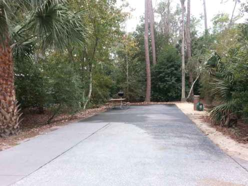 The Campsites at Disney's Fort Wilderness Resort in Lake Buena Vista Florida Backin - Large Site