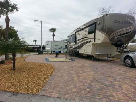 Elite Resorts at Citrus Valley in Clermont Florida Backin