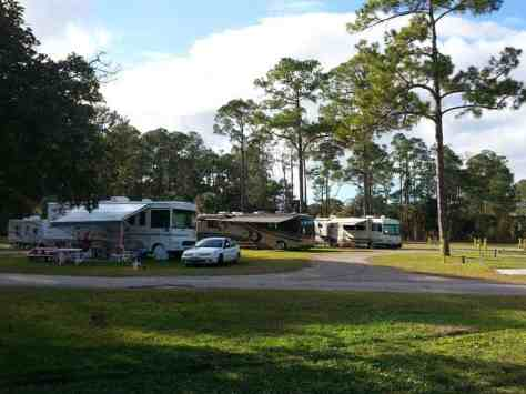 Encore Sunshine Holiday Daytona in Ormond Beach Florida Backin