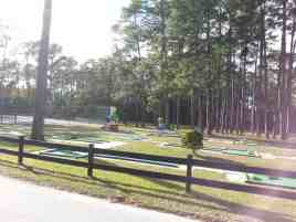 Encore Sunshine Holiday Daytona in Ormond Beach Florida Mini Golf
