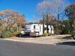 Glen Eden Nudist Resort in Corona California Deluxe Full Hookup Sites