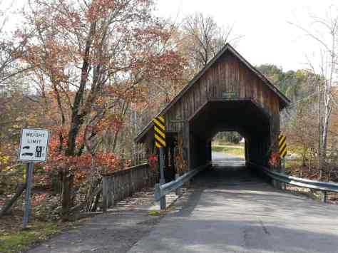 Greenbrier Island Campground near Gatlinburg Tennessee Covered bridge near park