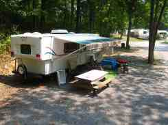 Greenbrier River Campground in Alderson West Virginia Pull Thru