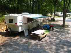 Greenbrier River Campground in Alderson West Virginia Pull Thru