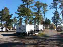Harvest Moon RV Park in Adairsville Georgia Longer Term Area