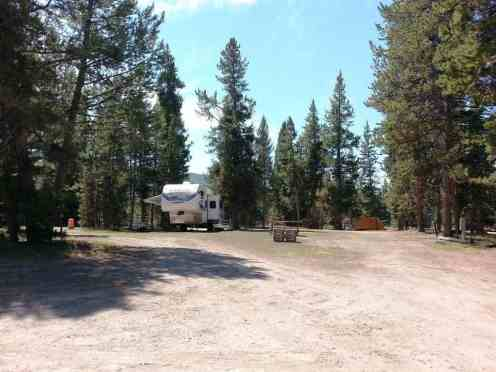Headwaters Campground And Rv Sites At Flagg Ranch Moran