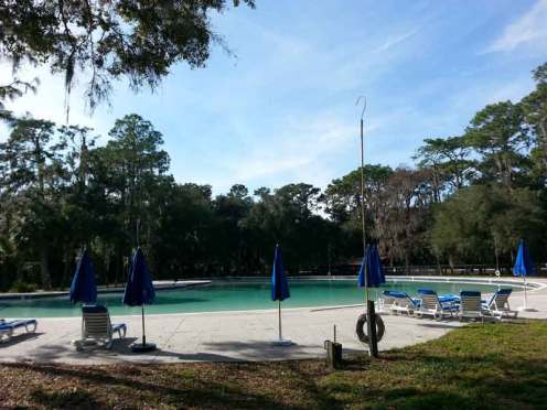 Hillsborough River State Park in Thonotosassa Florida Pool