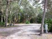Indian Forest Campground in Saint Augustine Florida Pull thru