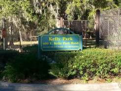 Kelly Park / Rock Springs in Apopka Florida Sign