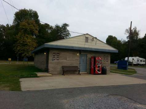 Kentucky Dam Village State Resort Park in Gilbertsville Kentucky Restroom