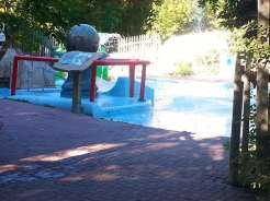 Great Falls KOA Partial Shot of Pool