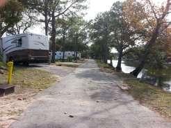 St. Augustine Beach KOA in St Augustine Florida Roadway