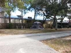 St. Augustine Beach KOA in St Augustine Florida Tent Site