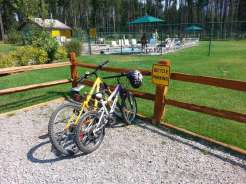 koa-west-glacier-montana-bike-parking