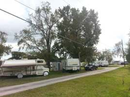 offers RV camping for short and long term stays. Adjacent to a community park Sites