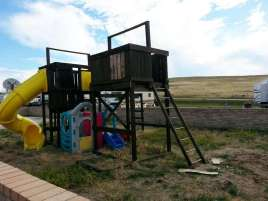 The Lake Stop Resort north of Buffalo Wyoming RV Playground