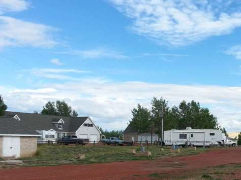 The Lake Stop Resort north of Buffalo Wyoming RV Sites