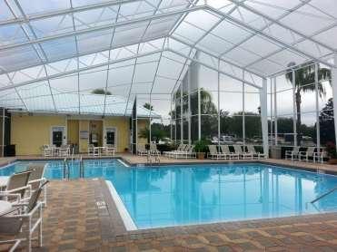Lazydays RV Resortin Seffner Florida Pool