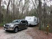 Lithia Springs Regional Park in Lithia Florida Backin