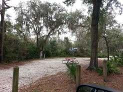 Lithia Springs Regional Park in Lithia Florida RV Site