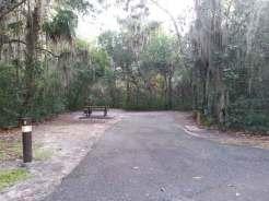 Magnolia Park Campground in Apopka Florida Backin