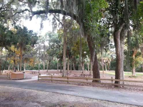 Magnolia Park Campground in Apopka Florida Campfire Sircle