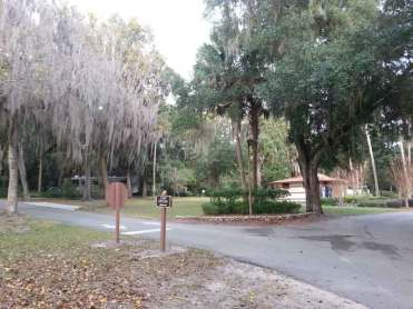 Magnolia Park Campground in Apopka Florida Entrance