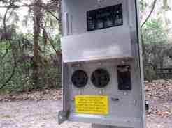 Magnolia Park Campground in Apopka Florida Electric
