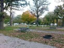 Margaret MacNider Campground in Mason City Iowa Partial Hookups
