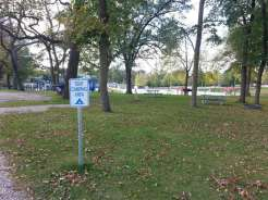 Margaret MacNider Campground in Mason City Iowa Tent Sites