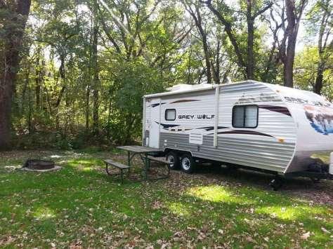 McIntosh Woods State Park in Ventura Iowa RV Site