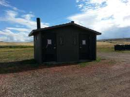 Mikesell-Potts Recreation Area Restroom