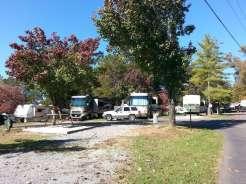 Mill Creek Resort in Pigeon Forge Tennessee Pull thru