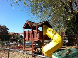 Mountaineer Campground in Townsend Tennessee Playground