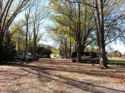 Mountaineer Campground in Townsend Tennessee Roadway
