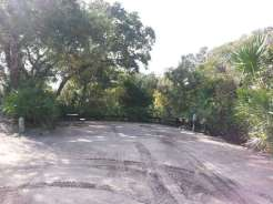 North Beach Camp Resort in Saint Augustine Florida Backin