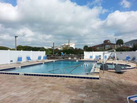 North Beach Camp Resort in Saint Augustine Florida Pool