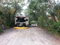 North Beach Camp Resort in Saint Augustine Florida Pull thru
