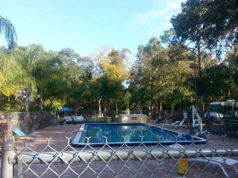 Nova Campground in Port Orange Florida Pool