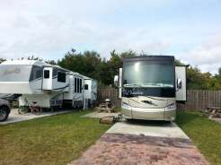 Ocean Grove RV Resort in Saint Augustine Florida Backin