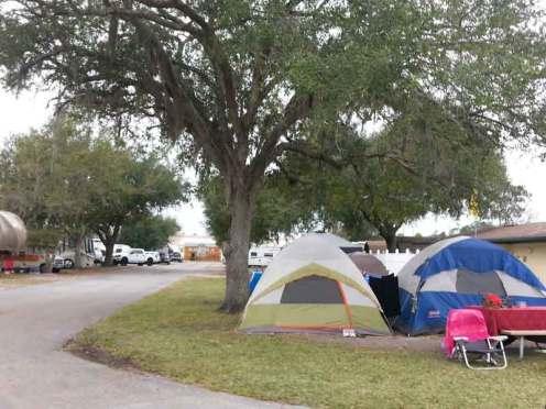 Orlando Kissimmee KOA in Kissimmee Florida Tent Sites