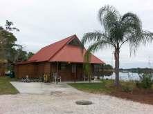 Orlando SE Lake Whippoorwill KOA in Orlando Florida Cabin