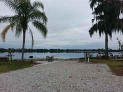 Orlando SE Lake Whippoorwill KOA in Orlando Florida lake View