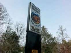 Outdoor Resorts at Gatlinburg near Gatlinburg Tennessee Sign
