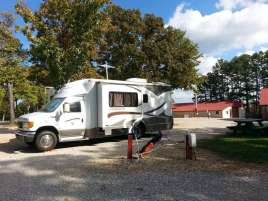 Ozarks Mountain Springs R.V. Park & Cabins near Mountain View Missouri Pull Thru