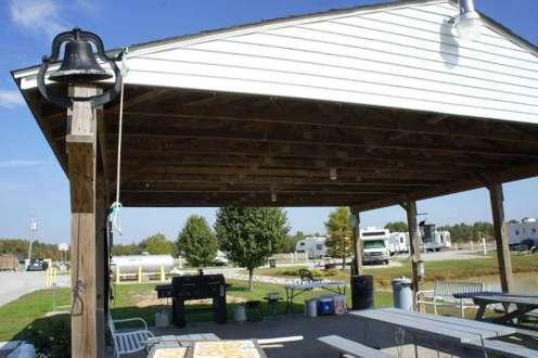 Pavilion and BBQ