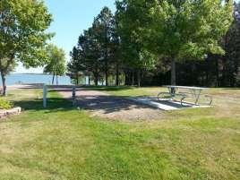 Pelican Lake Recreation Area near Watertown South Dakota Backin