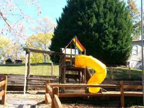 Pigeon Forge / Gatlinburg KOA in Pigeon Forge Tennessee playground