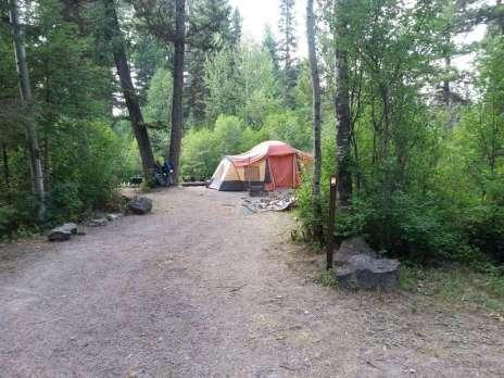 quartz-creek-campground-glacier-national-park-tent